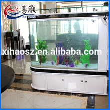 China Supplier Eight Start White Large Clear Glass Aquarium