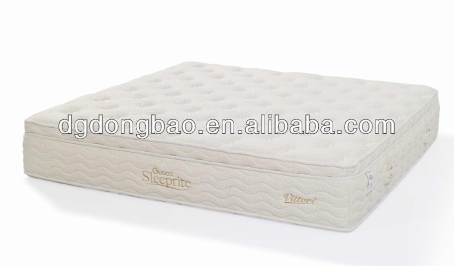 Vintage Euro-top pocket spring natural latex vaccum compressed mattress - Jozy Mattress   Jozy.net