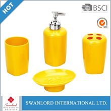 bathroom accessories beautiful and high quality 4 pcs bathroom set