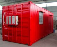 Modified Storage Containers Portable Living Containers 20'