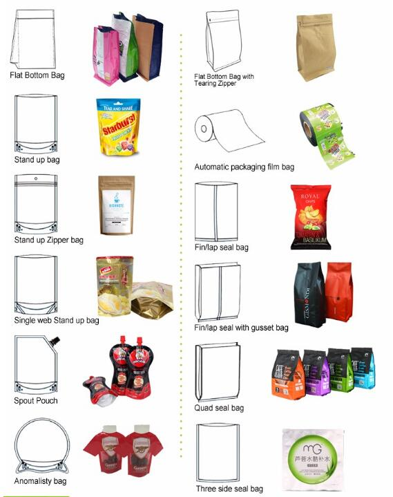 wholesale custom printing aluminum foil biodegradable zipper coffee beans packing bags with valve
