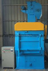 cleaning equipment: rubber belt type shot blasting machine q3210