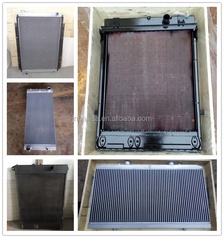 good quality supply radiator WA380-3 WA420-3 for wheel loader with best price