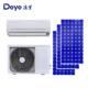 DC/AC dual power hybrid 12000 BTU Solar Air Conditioner