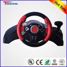 2013 Hottest USB Wheel With Vibration racing car game steering wheel