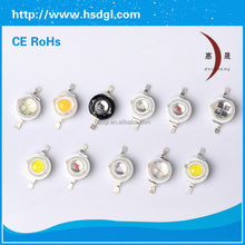 china good quality epileds 45mil 450nm 460nm 620nm 630nm 3w high power red led for plant