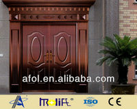 luxury stainless steel entry door