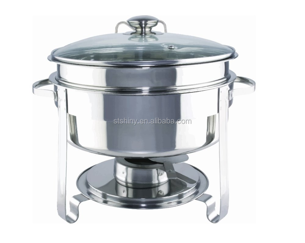 SHINY K05 Stainless Steel 201 Food Warmer Container