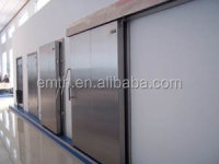 Cold room door lock for refrigeration units