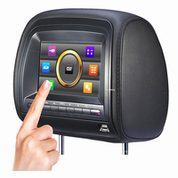 7 Inch Headrest Touch Screen Car DVD Player With SD USB MP5 Wireless Game