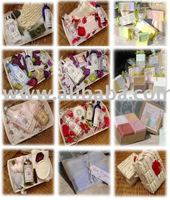 Mixed Soaps and Lotions from Provence