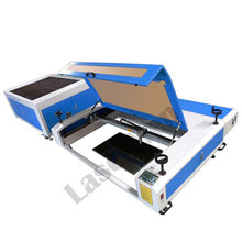 LM-1390 separable type marble granite cnc CO2 laser stone man-made rock engraving machine with competitive price