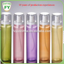 skin care body packaging PET pump spray cosmetic bottle manufacturers