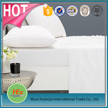 200T White Cotton and Polyester Flat Bed Sheet