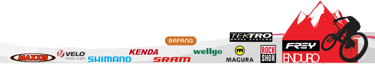 Parts suppliers: Bafang,Rockshox,FOX,MAGURA,SRAM, MAXXIS