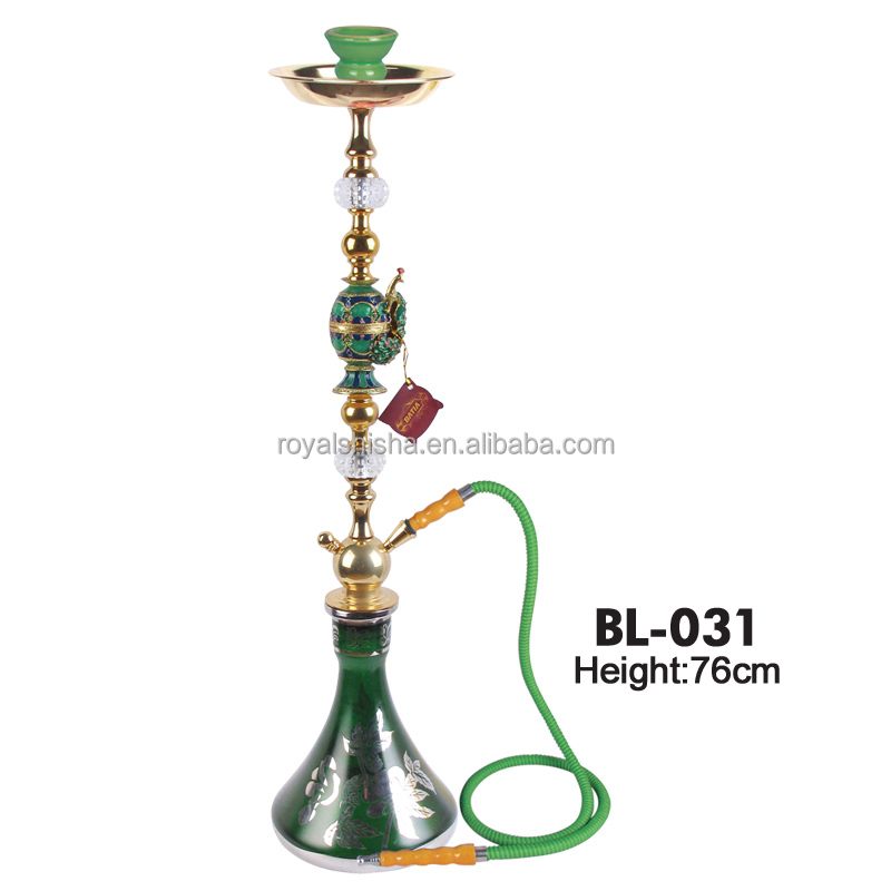BATIA Brand High Quality Batia Glass Green Al Fakher Big Hookah Flavor Wholesale
