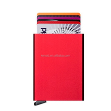 RFID Blocking Hard Case Business Card Credit Wallet ID Aluminum Theft
