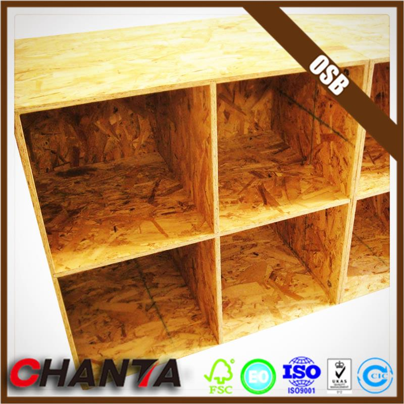Linyi manufacturer 1220X2440mm osb board in sales For Poland market