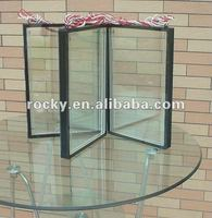 12-30mm thick double pane glass / double glazing glass