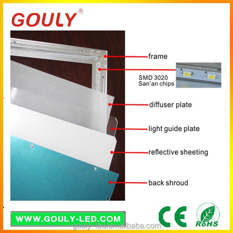 durable diffuser sheet led 300x600mm light guide plate