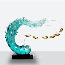 large glass art sculptures