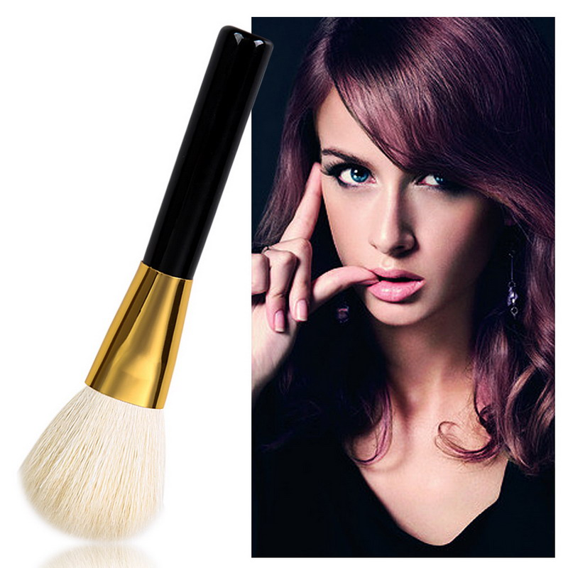 1 PCS Makeup Brush Tool Wool Material Wooden Handle Beauty Bronzer Powder Blusher Brush #BSEL