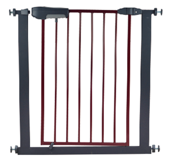 factory price wholesale Brown Pet safety gate pressure mounted gate ,extension accessory ECO-friendly