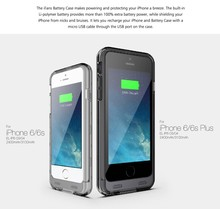 Portable Charger for iPhone 6 6S Charging Case Lifetime Warranty 3100mAh Battery Pack Juice Bank Cover MFI Certified
