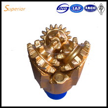 API IADC 127 steel tooth tricone rock bit/milled tooth drilling bit