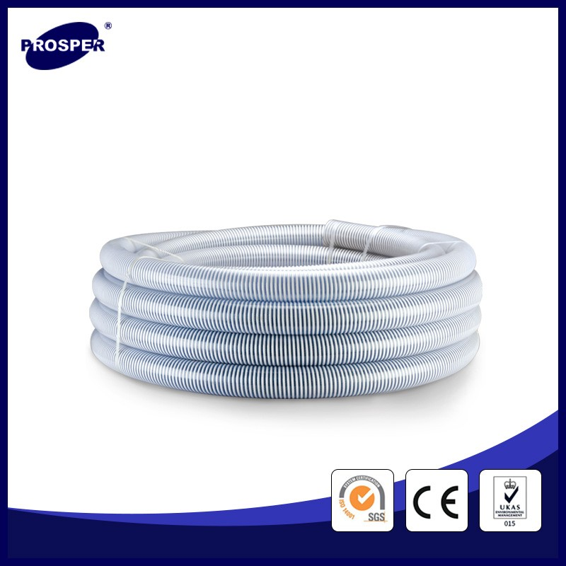 reinforced pvc suction hose/plastic tube with helix