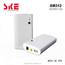 12V MINI UPS BATTERY BACKUP WITH 5V USB FOR WIFI ROUTER