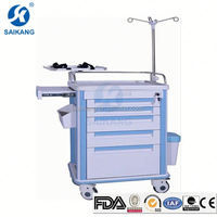Commercial Furniture Simple Moving Anaesthetic Trolley