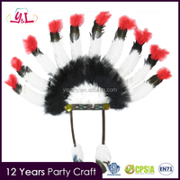 Halloween Decoration Indian Feather Carnival Headdress