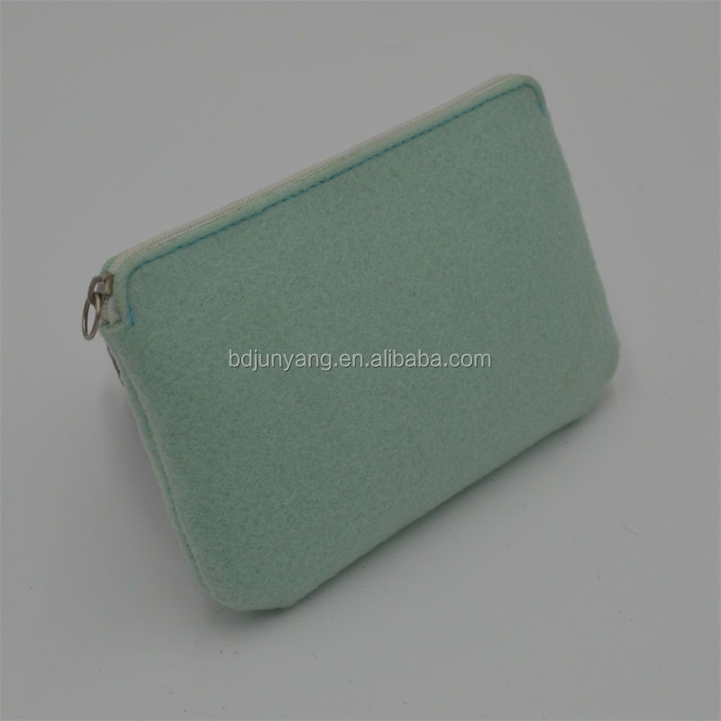 Promotion handmade felt bags felt pencil case for sale with low price