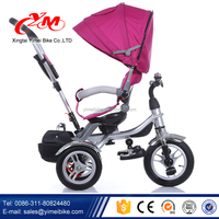Innovative Lexus Triclycle Kids/Trike Baby New style/Cheap 12 inch BIG wheel smart Children Tricycle with rotated seat
