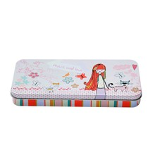R0767H China factory wholesale cartoon printed tin pencil case