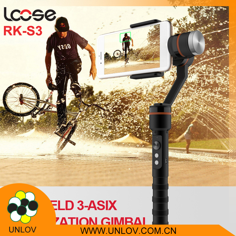 Hot sale products cheap stability 360 degree smartphone camera dslr 3 axis gimbal