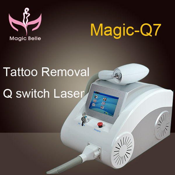 2015 TOP sale best (Magicbelle)!!!!tattoo removal machine/ nd yag laser/ CE certification