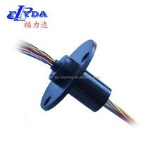 mono-crystal furnace slip ring rotary joint electrical connector