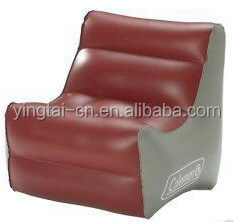 Hot sales inflatable king throne shape sofa giant plastic inflatable chair inflatable sofa chair