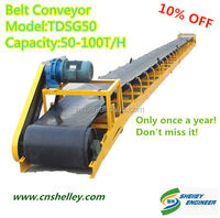 China Used Corn Unloading Belt Conveyor Sales