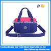 2015 is suitable for lady's fashion pastel waterproof nylon single shoulder bag handbag multi-functional women bag