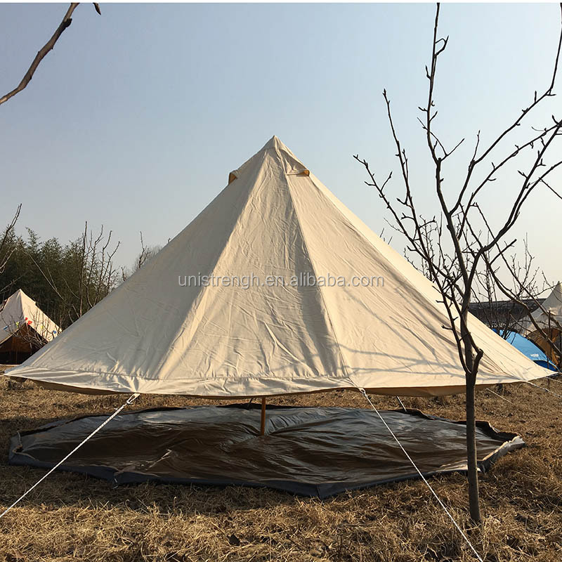 Waterproof 6m glamping safari tents for sale