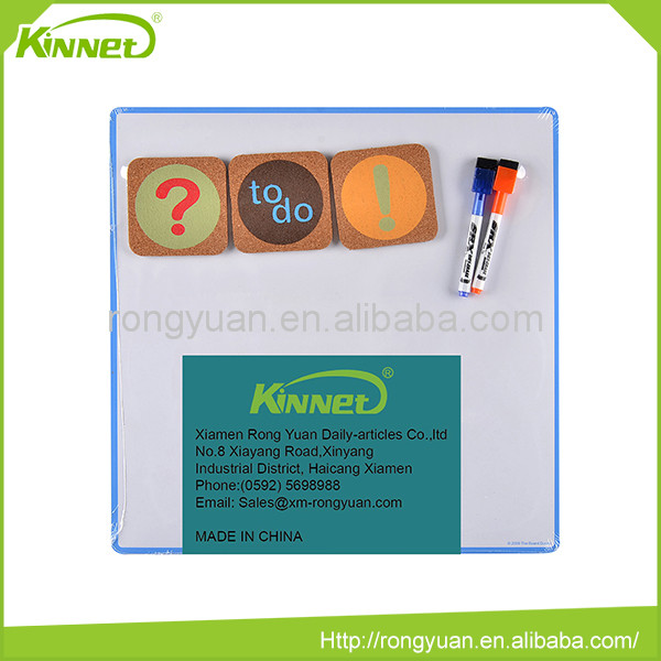 Magnetic mental surface bulletin tiles transparent whiteboard