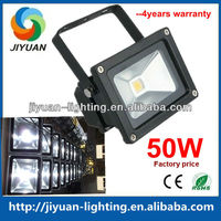 Factory Direct Sale Aluminum Shell IP65 50w led flood light outdoor warm white cool white nature white
