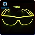 Wisdom Victory EL wire flashing led sunglasses for party supply , el sunglasses