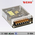 New & Original 30W Dual output switching power supply 12v 1a power supply