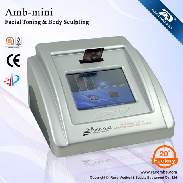 Anti Aging Microcurrent Facial Toning Device Face Lifting Microcurrent Machine for Sale
