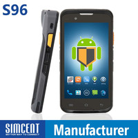 Rugged Industrial Handheld mobile computer terminal PDA with WiFi NFC RFID reader and GPS