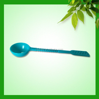 Ningbo manufactory economic plastic ice cream spoons small